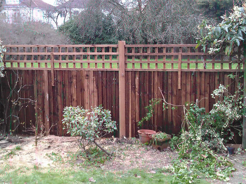featheredge & trellis